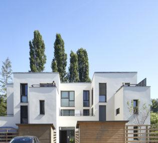 Résidence de 25 logements à Villemoisson-sur-Orge. Architecte : Agence Gérald Gribé architectes. Photographe : Antoine Mercusot