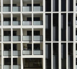 Résidence de 60 logements à Lyon. Architecte: Insolites Architectes. Photographe: Jean-François Marin