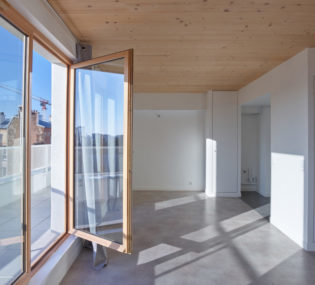 Résidence de 54 logements à Saint-Denis. Architecte : Gerin-Jean. Photographe : Marco Da Re