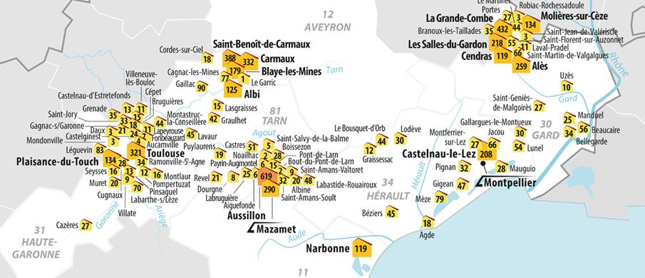 En occitanie, vous pouvez accorder votre confiance à 100% (et même un peu plus) aux professionnels labellisés qualité tourisme occitanie sud de france. 3F Occitanie devient le second pôle Action Logement en ...