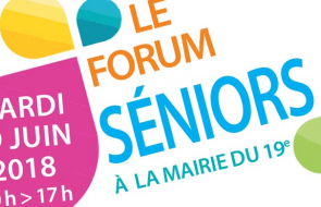 Forum Séniors Paris 19e - 19 juin 2018